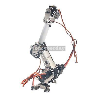 6-Axis S6 Industrial Mechanical Robot Arm Steel Metal Robotic Manipulator DIY UK 9