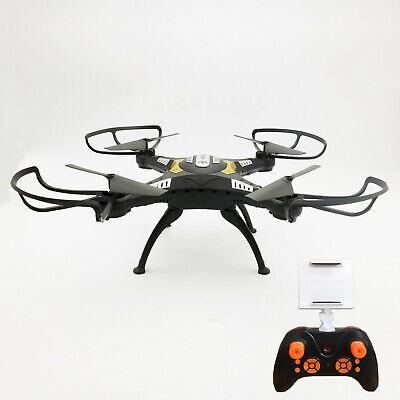 Drone Quadricottero Radicomandato Headless Wifi Fpv Camera Hd Video Foto Usb Led 3