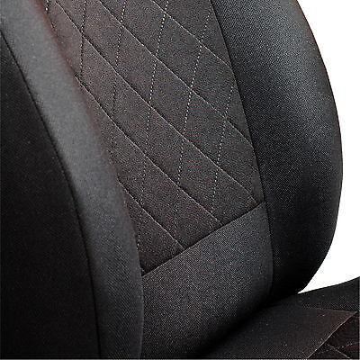 Schwarz-blau Effekt 3D Sitzbezüge für HYUNDAI i30 Autositzbezug VORNE