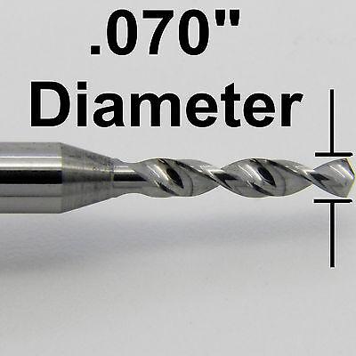 "Diameter Solid Carbide Micro Drill 1//8/"" Shank Kyocera #105-0635.400 .0635/"" #52"