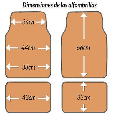 SET 4 ALFOMBRAS ALFOMBRILLAS MOQUETAS COCHE SPORTS UNIVERSAL CARPET CAR SPORT