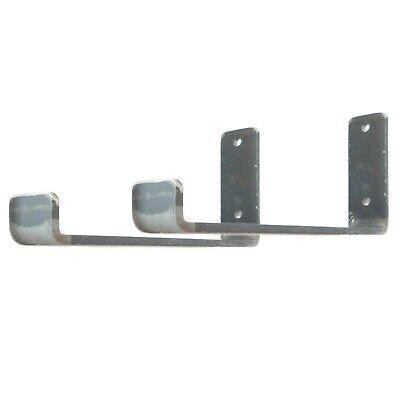 Rustic Shelf Brackets Scaffold Board Heavy Duty 225mm Industrial Steel Metal 4
