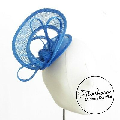 Sinamay Swirl - Make an Instant Fascinator for Hat Making and Millinery! 6