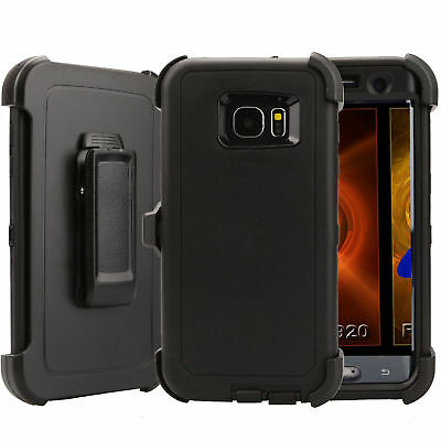 Case Cover Defender For Samsung Galaxy S7 Edge (Belt Clip Fits Otterbox) USA NEW 2