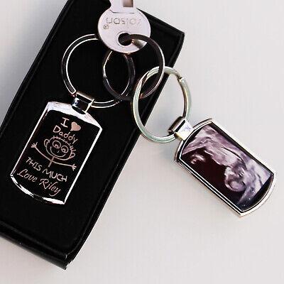 Personalised  Metal Keyring Photo Printed/Engraved Keepsakes collectable Gift ❤❤ 4
