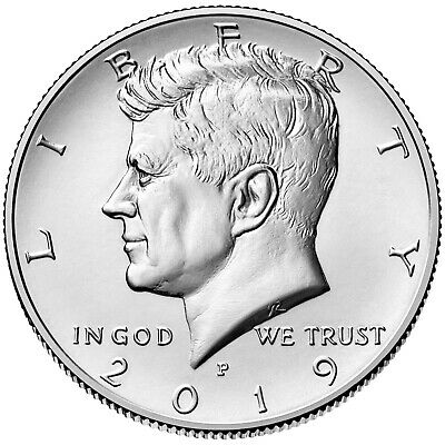 2019 P & D Kennedy Half Dollar - 2 coin set - BU - PRESALE 2