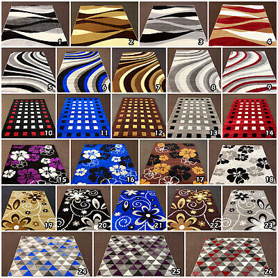 Large Modern Floral New Clearance Geometric Area Cheap Low Cost Rug Sale Runner 2