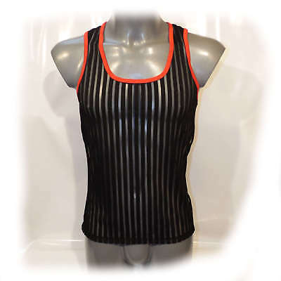 Muscle Shirt transparent anatomisch geformt Size L (2349) 2