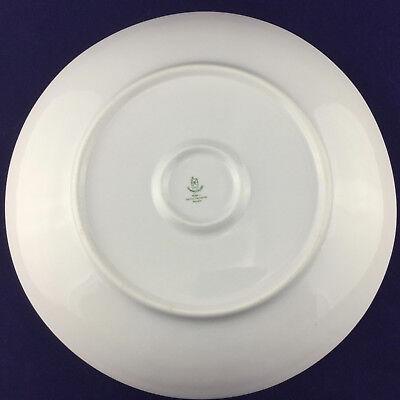 Vintage German Large Porcelain Platter Floral with Gold Rim Democratic Republic 5