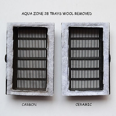 5 X Bj Filters Compatible Aqua Zone 28 - Carbon / Ceramic Kits  6 Months Supply 3