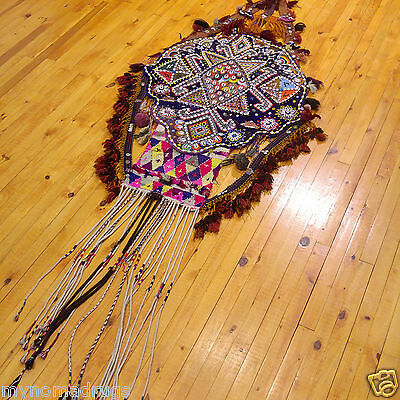 Beautiful Antique 1900-1930s Tribal Decorative,Ceremonial Wall Hanging Turkey 7
