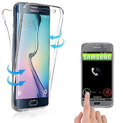 Housse Etui Coque Tpu Avant+Arriere 360° Bling Paillettes Pour Samsung Au Choix 9
