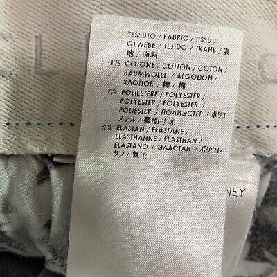 Stella McCartney Size 29 Denim Button Down Skirt Medium Length Casual Summer 5