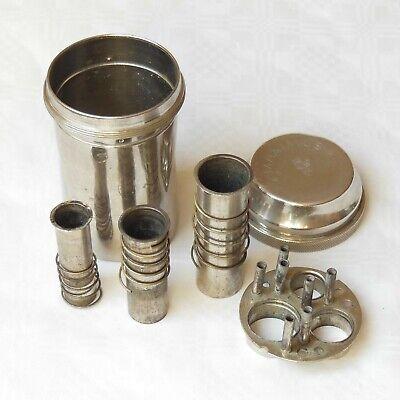 DREI-PFEIL MARKE - MAXIMUS antike Box für Spritzen und Nadeln Sterilisator WW2 5