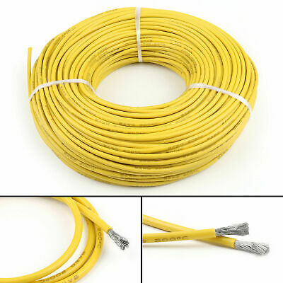16 18 20 ~ 28AWG Silicone Wire Cable Copper Line Tinned Flexible Stranded 5M 10M 10