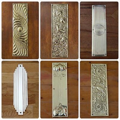 Chrome Or Nickel Escutcheons Door Keyhole Cover Plates Handles Knobs Covers 6