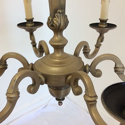 Antique Style 6 Arm Quality Chandelier 4