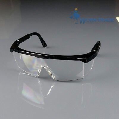 Schutzbrille 12 STÜCK Augenschutz Brille Gesichtschutz Top Qualität EN166 NEU