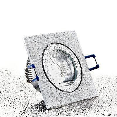 LED Bad Einbaustrahler Set IP44 GU10 230V 1W 3W 5W 7W dimmbar Feuchtraum MAR44 3
