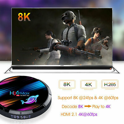 2020 H96 MAX X3 4GB+32GB Android 9.0 TV Box Smart Amlogic S905X3 Dual WIFI BT UK 7