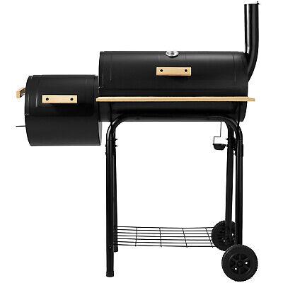 XXL BARBECUE GRILL Wagon Charbon De Bois Fumoir Smoker