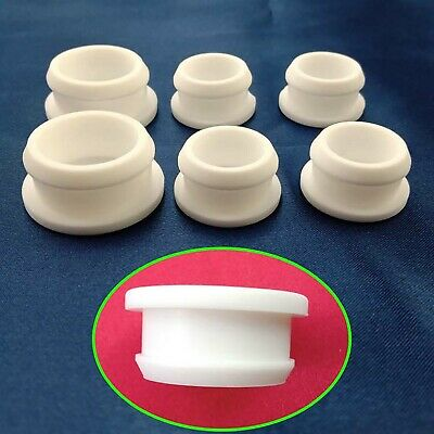 Clear Snap-on Hole Plugs Silicone Blanking End Caps Pipe Tube Inserts 2.5mm~14mm
