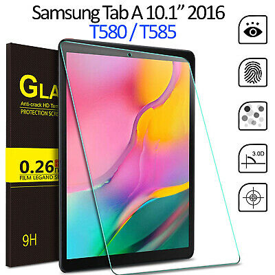 Tempered Glass Screen Protector For Samsung Galaxy Tab A 10.1 2016 SM T580 T585 10