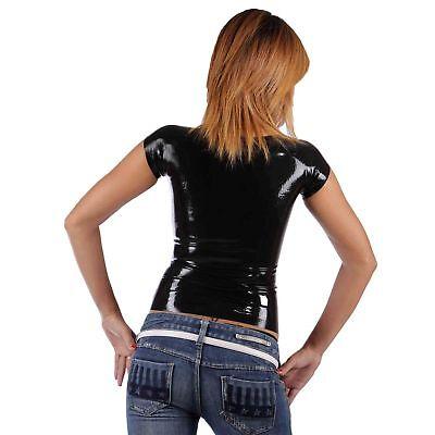Latex Shirt aus Gummi in schwarz, Einheitsgröße 3