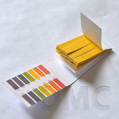 1-14 pH paper for body, soil, water, urine, saliva. 80 strips. FREE S&H