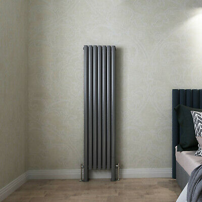 Designer Radiator Horizontal Vertical Flat Panel Oval Column Heating Panel Rads 5
