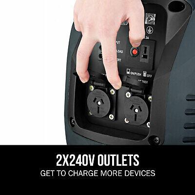[20%OFF]GenTrax Portable Inverter Generator 3.5kw Digital Petrol Pure Sine New 3