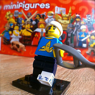 Sealed Pack LEGO Collectible MiniFigure #04 Series 15 Clumsy Guy