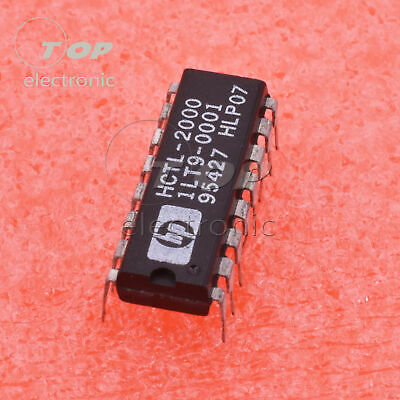 1PCS IC HCTL-2000 DIP-16 Quadrature Decoder//Counter Interface ICs AVAGO US