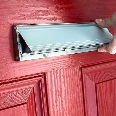 1 of 5FREE Shipping PVC Door Metal Letter Box Plate Seal Flap Cover Brush Internal Draught Excluder & PVC DOOR METAL Letter Box Plate Seal Flap Cover Brush Internal ...