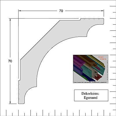 """34m 8 Stück Ecken Stuckleisten Stuckprofile Deckenprofil  Dekor /""""Oslo/"""""""