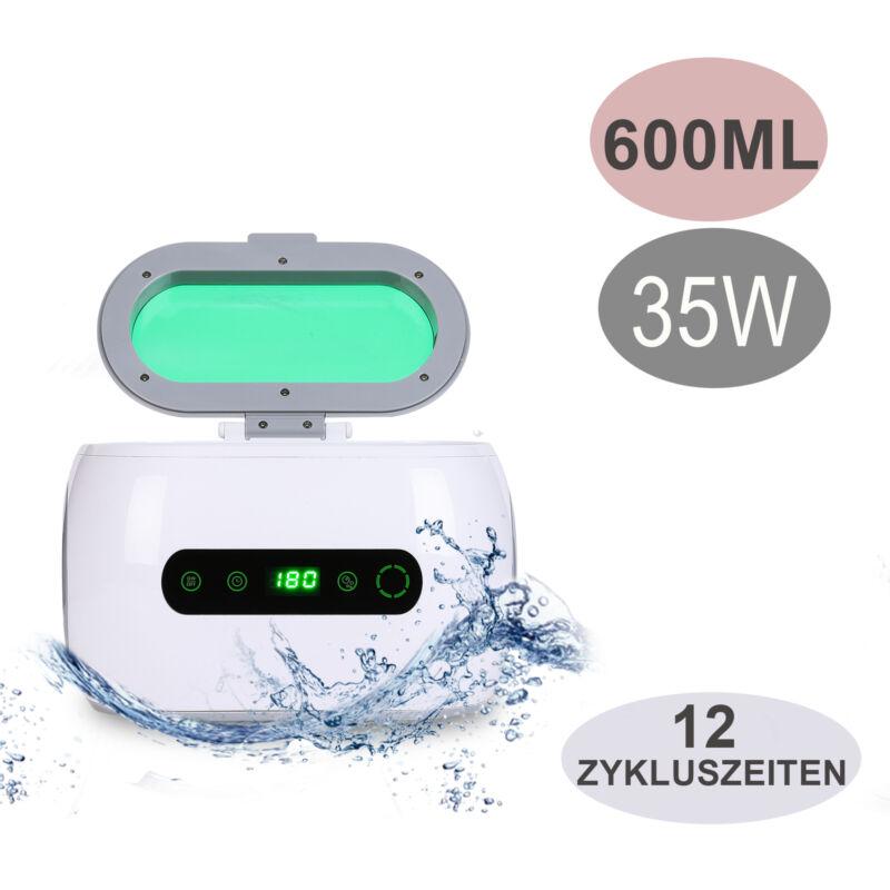 35W 600ml Digital UltraschallReiniger Reinigungsgerät  Brillen Schmuck Reiniger 2