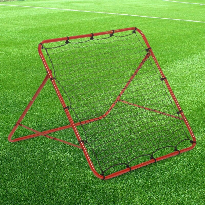 New Rebounder Net Kids Adults Football Training Aid Practice Adjustable 6