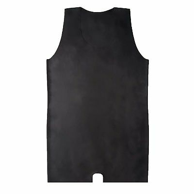 Brand New Latex Rubber Gummi Black Catsuit Body Suit Vest (one size) 7
