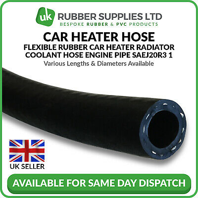 Rubber SAE J20 R3. EPDM 16mm Heater radiator hose Coolant 500mm Length