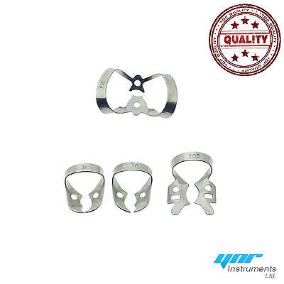 Kit pour digue dentaire forceps caoutchouc pince Ainsworth serrage cadre CE 5