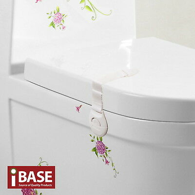 16x Child Adhesive Kid Baby Safety Drawer Door Lock Cupboard Cabinet Belt White 3