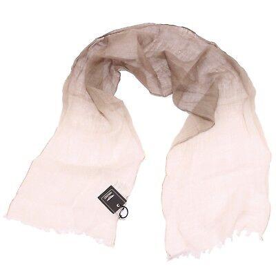 1296W sciarpa bimbo ASTON MARTIN beige scarf linen kid