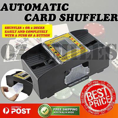 Automatic Playing Cards Card Games Poker Sorter Mixer Shuffler Shuffling Shuffle 2