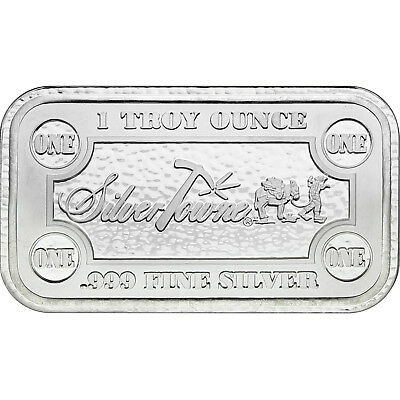 SilverTowne Money Bars 1oz .999 Silver Bar 100pc 2
