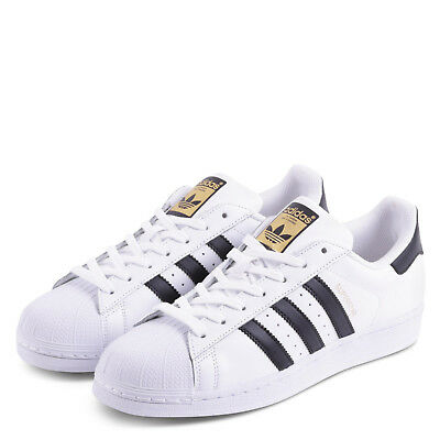 buy online a5931 e1276 ADIDAS SUPERSTAR White/black Retro Casual Trainers sizes 7-13 C77124