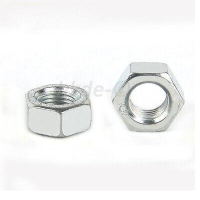 Sechskantmuttern 7//8 Stahl verzinkt 8 ≈DIN 934 BSW 25 Stk 03600222001