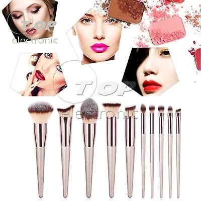 Pro Face Foundation Eyebrow Eyeshadow Brush Makeup Brush Set Tools Cosmetic 3