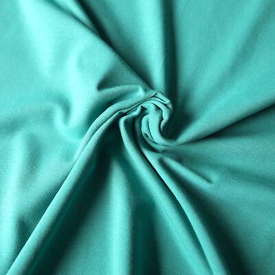 Jersey Stoff einfarbig | Uni Stoff | Top - Qualitäts - Baumwolljersey | Öko-Tex 12