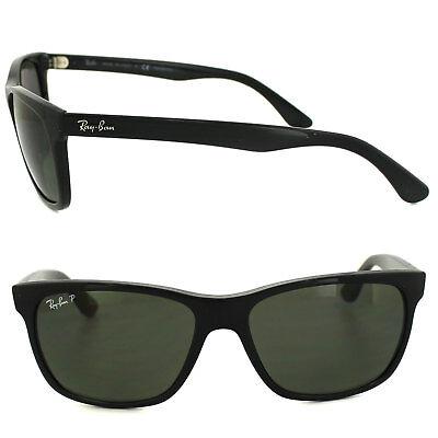 d49317f73b RAYBAN SUNGLASSES 4181 601 9A Black Polarized Green - EUR 111