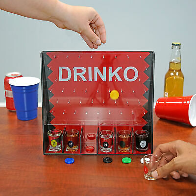 DRINKO NOVELTY DRINKING GAME Hilarious Funny Crazy Social Party Games College 5